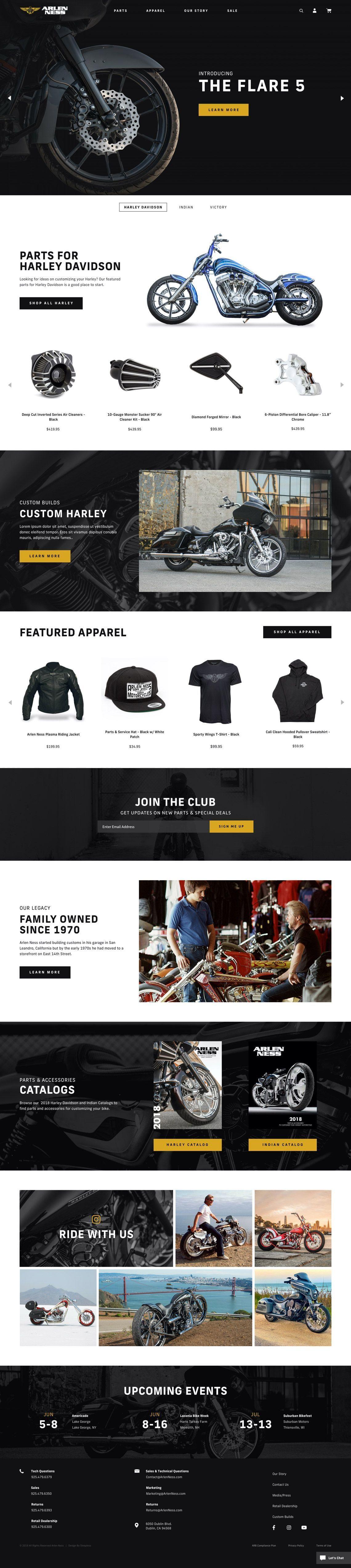 Arlen Ness Homepage