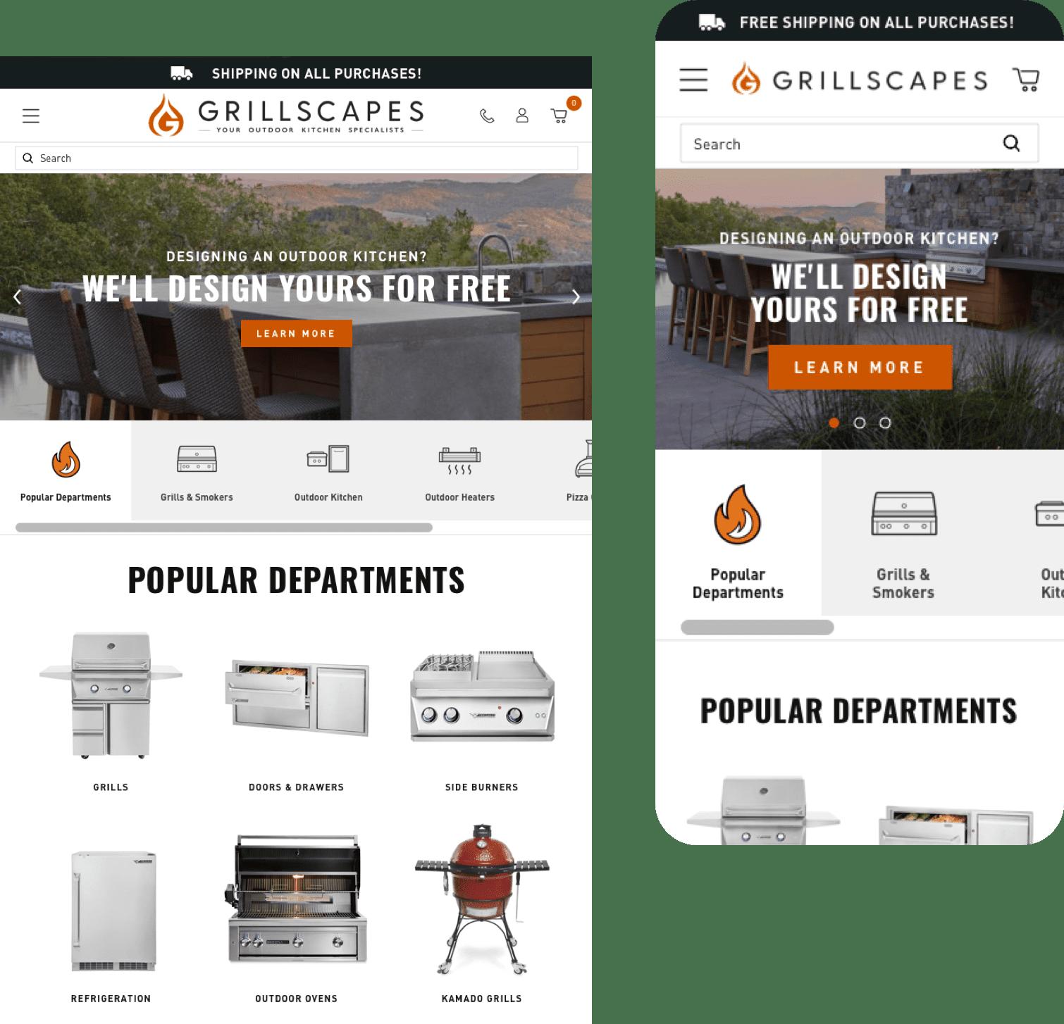 Grillscapes Mobile