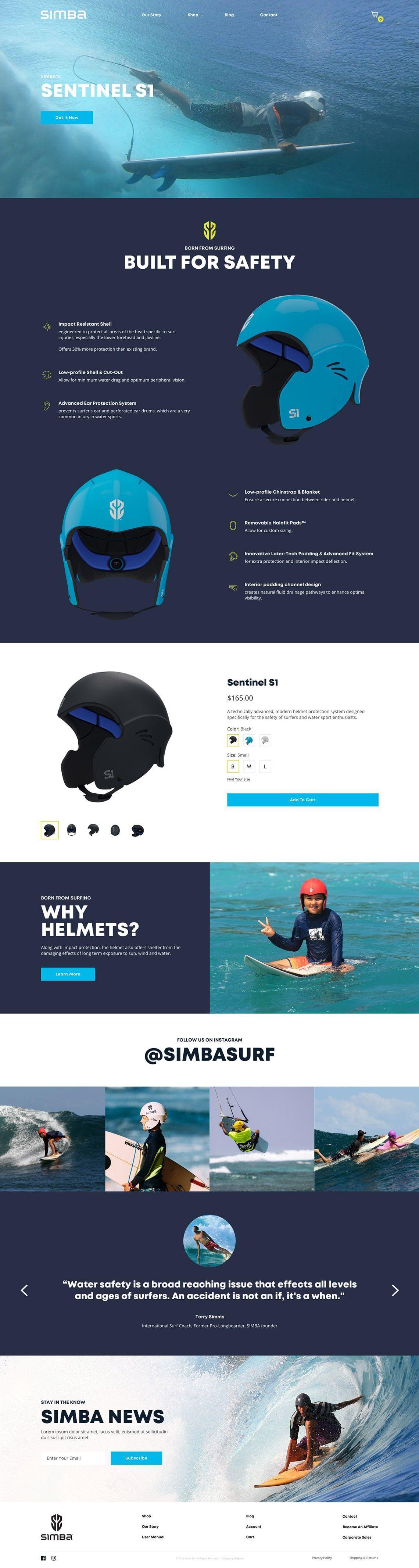 Simba Surf - Homepage