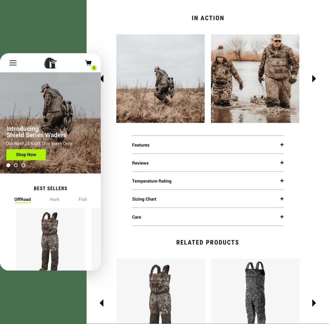 Gator Waders - Mobile