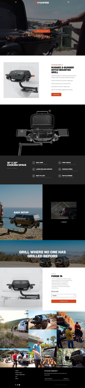 HitchFire - Homepage