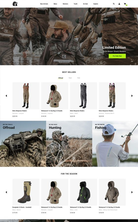 Gator Waders Website