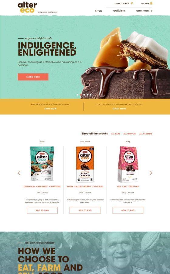 Alter Eco - California Chocolate Brand