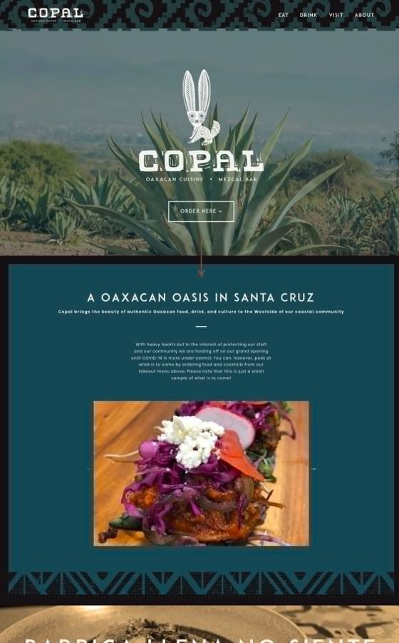 Copal Mexican Restaurant Branding