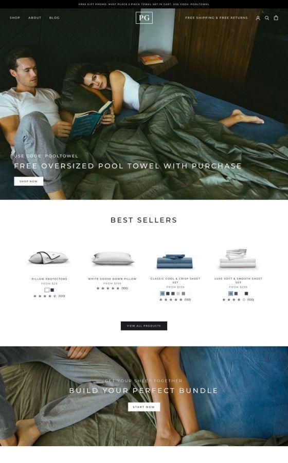 Pillow Guy Ecommerce Development
