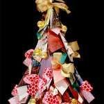 Faça uma árvore de Natal reciclada