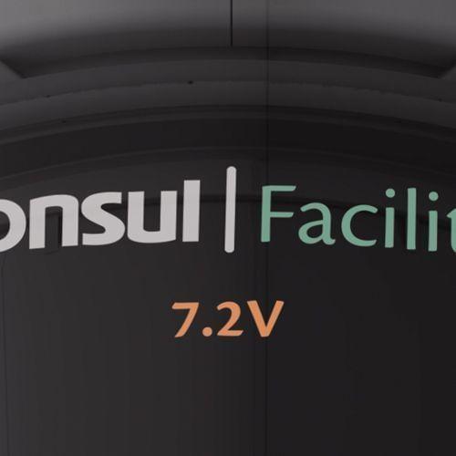 Aspirador Portátil de Pó e Água Consul Facilite - Aspirador Portátil C7W07AB - Bateria de 7.2 Volts