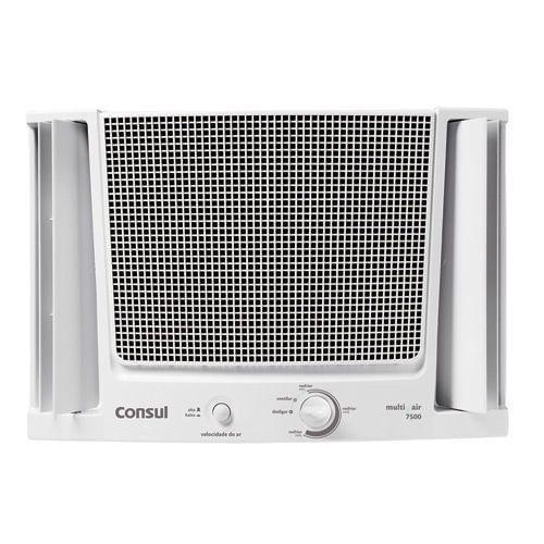Ar condicionado de janela - ar condicionado janela 7.500 btus branco frio com filtro fácil de limpar - CCF07EB