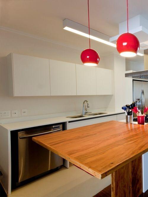Iluminação Ideal para a Cozinha  Consul # Bancadas De Cozinha Com Pendentes