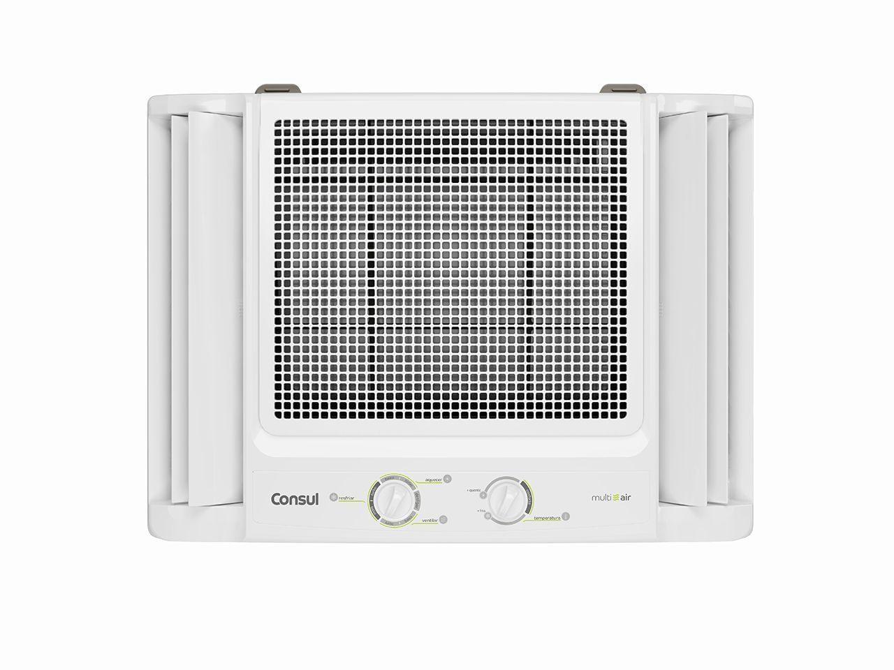 Ar condicionado de janela - ar condicionado janela 7.500 e 10.000 btus branco quente e frio com filtro anti poeira - CCS