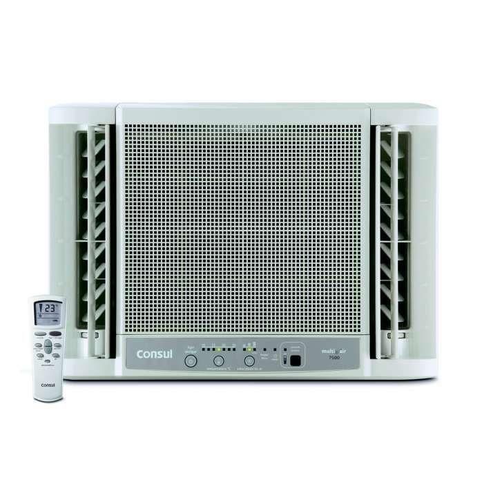 Ar condicionado de parede branco CCO