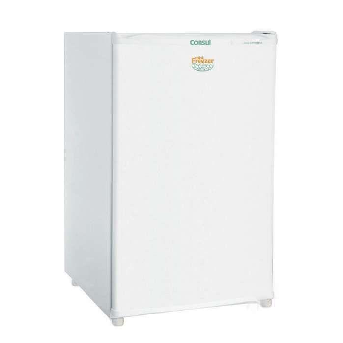 Freezer pequeno: Mini freezer branco CVT10 - Consul