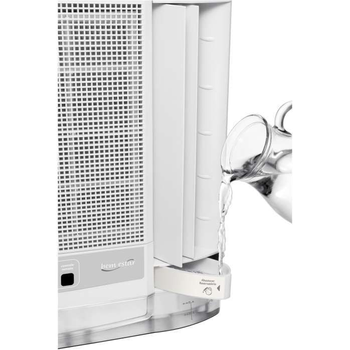 Ar condicionado de parede branco CCG