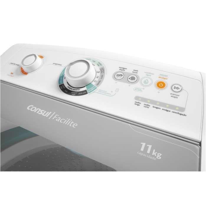 Painel de lavadora de roupas branca CWG11