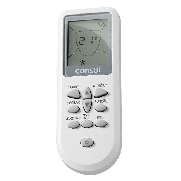 Controle branco de ar condicionado CBU/CBV