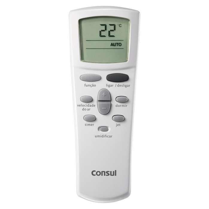 Controle branco de ar condicionado CCH