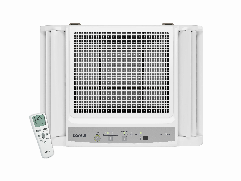 Ar condicionado de janela - ar condicionado janela 7.500 e 10.000 btus branco quente e frio - CCO