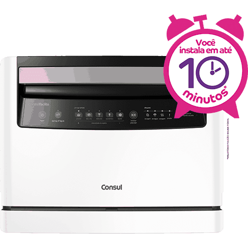 Lava-louças: 6 serviços branca CLC06