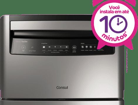 Lava-louças: 6 serviços inox CLC06