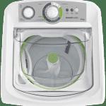 Máquina de lavar 8kg: Facilite branca Consul - Lavadora de Roupas 8kg visão de cima máquina com dispenser de sabão aberto CWE08AB