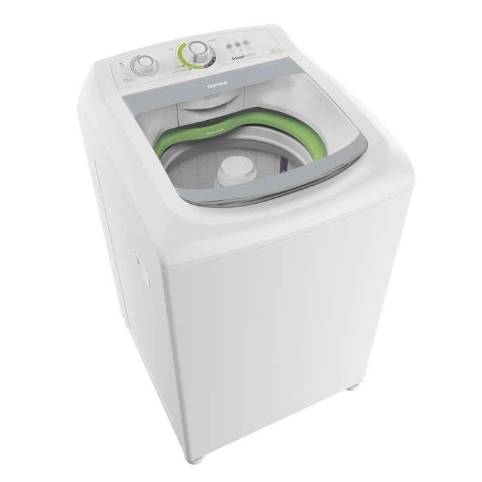Máquina de Lavar 10kg Branca - Lavadora de Roupas 10kg Consul CWE10