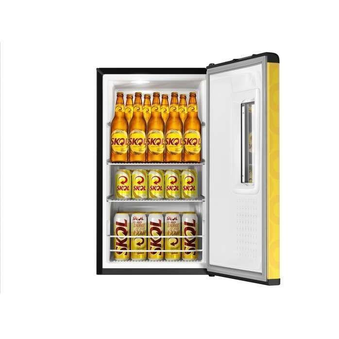 Cervejeira amarela SKOL CZD12