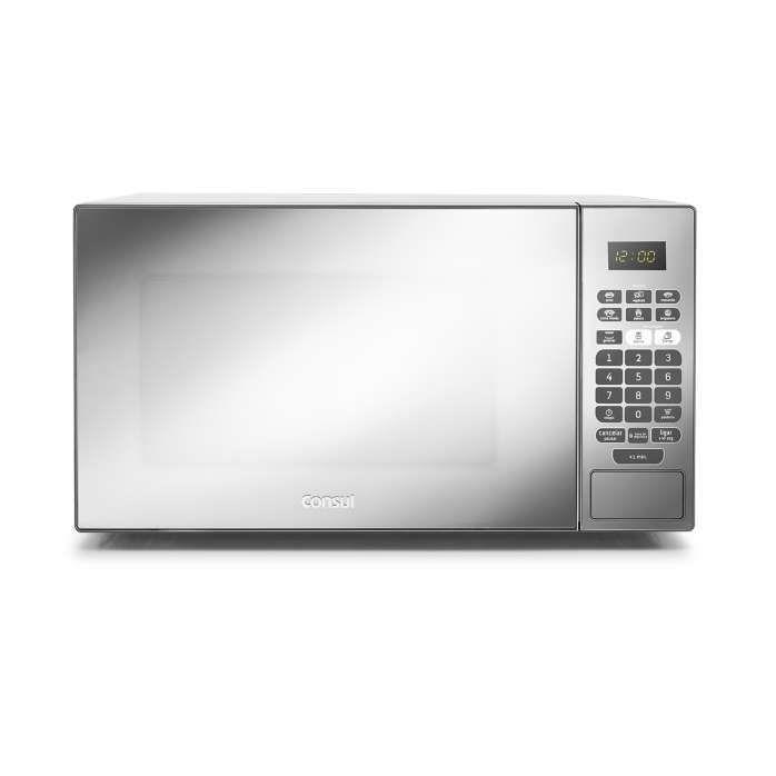 micro-ondas inox - micro-ondas inox espelhado 30 litros com grill CMA30F Consul - Imagem frontal