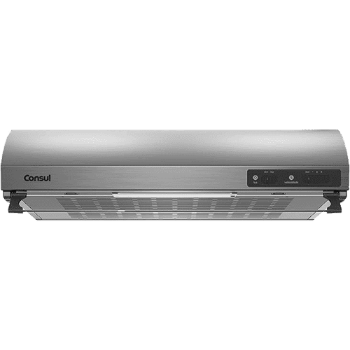 Depurador Inox 4 Bocas Consul - Depurador Consul CAT60GR - Frontal