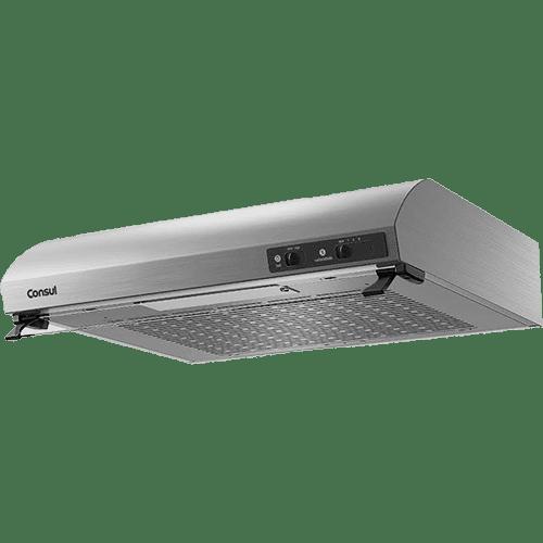 Depurador de Ar Consul 80 cm inox 5 e 6 bocas silencioso com filtro lavável