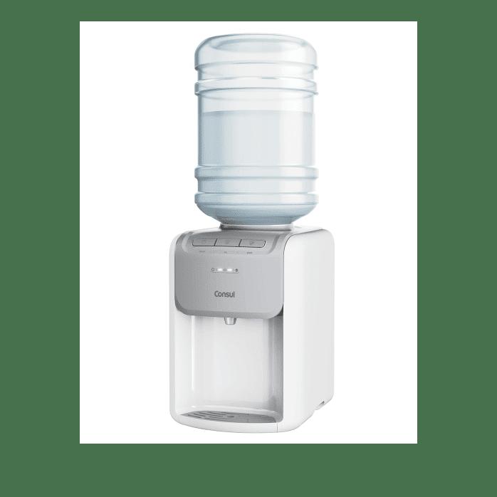 Bebedouro de Água Gelada Branco Consul - Bebedouro Refrigerado CJD20AB - Perspectiva