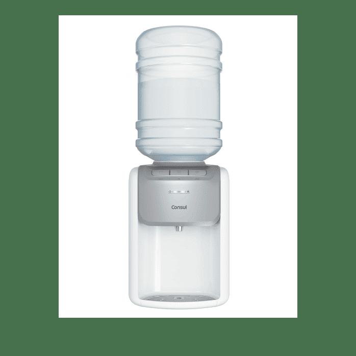 Bebedouro de Água Gelada Branco Consul - Bebedouro Refrigerado CJD20AB - Frontal