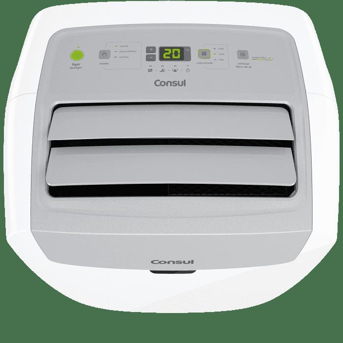 Ar-condicionado branco portátil C1A12BB
