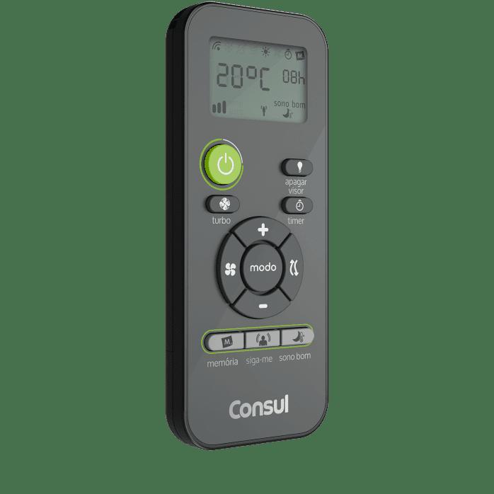Controle de Ar-condicionado titanium portátil C1A12BT