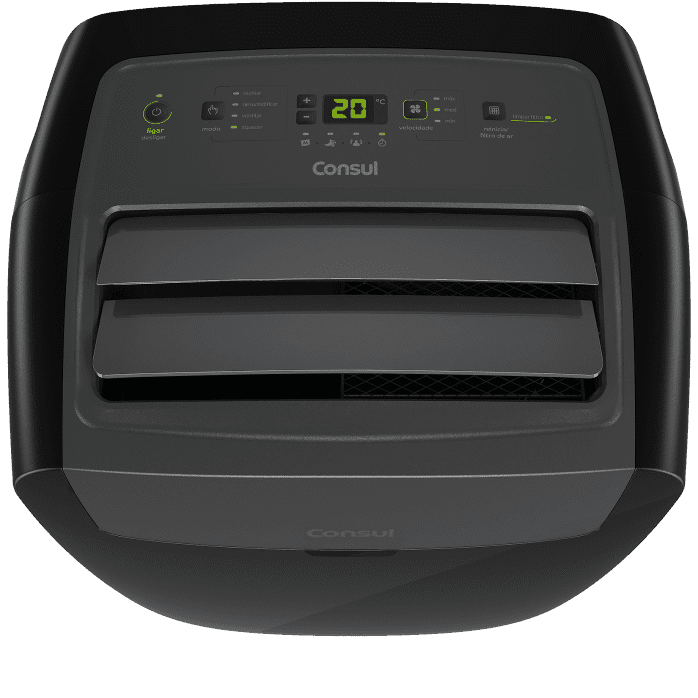 Ar-condicionado titanium portátil C1A12BT