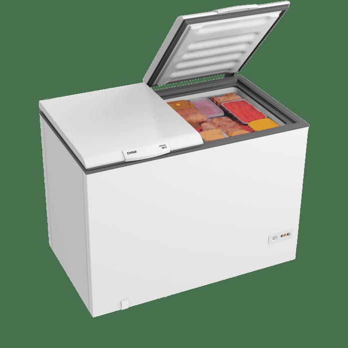 Freezer horizontal branco CHB42