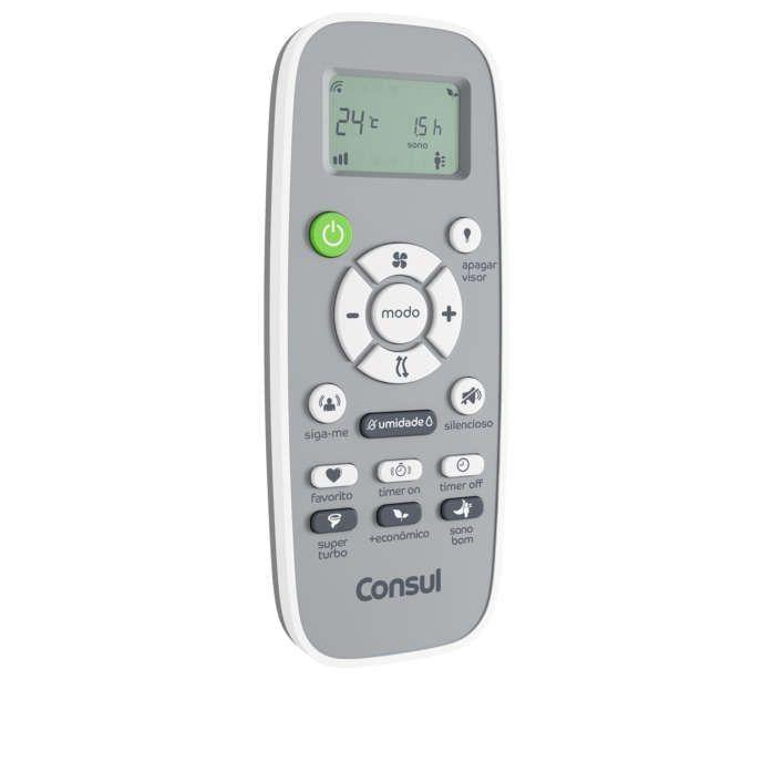 Controle de ar condicionado branco CBF