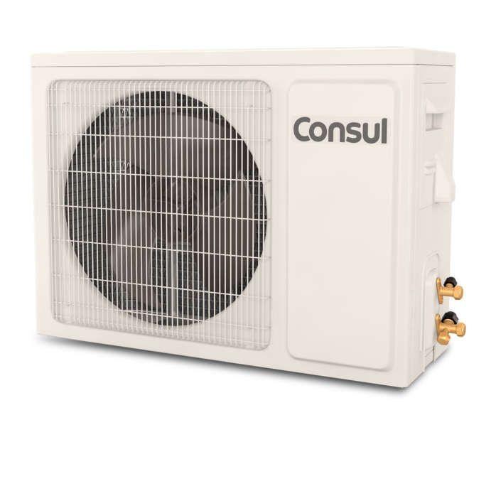 Ar condicionado branco CBF unidade externa