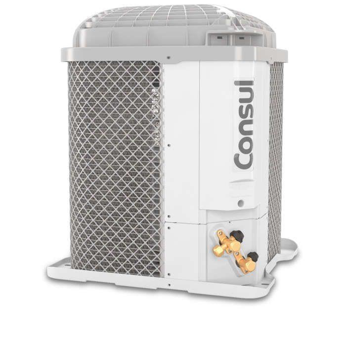 Ar condicionado branco CBP unidade externa