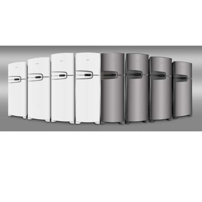 Packshot das novas geladeiras CRM
