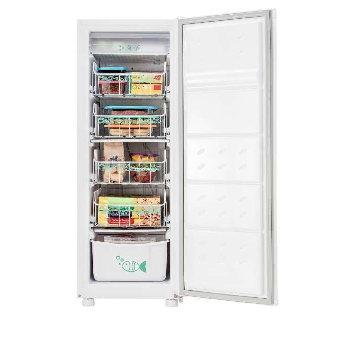 Freezer vertical branco CVU18