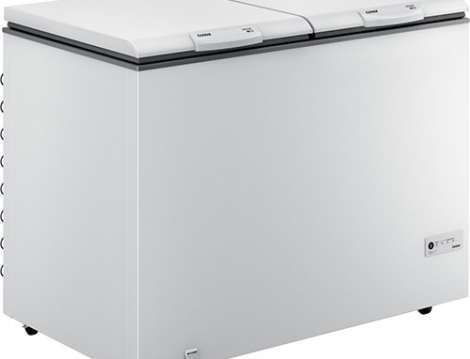 Freezer - Freezer horizontal 2 portas branco CHB42EB - imagem frontal