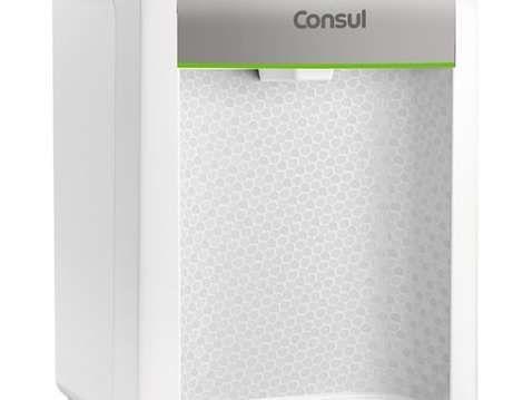 Purificador de água - Purificador de água refrigerado branco e prata CPB34AS