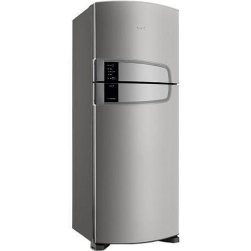 Geladeira Consul Frost Free Duplex 437 litros cor Inox com Horta em Casa