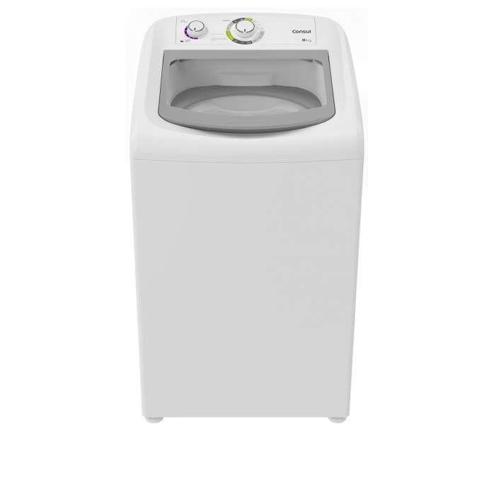 Lavadora branca CWB08