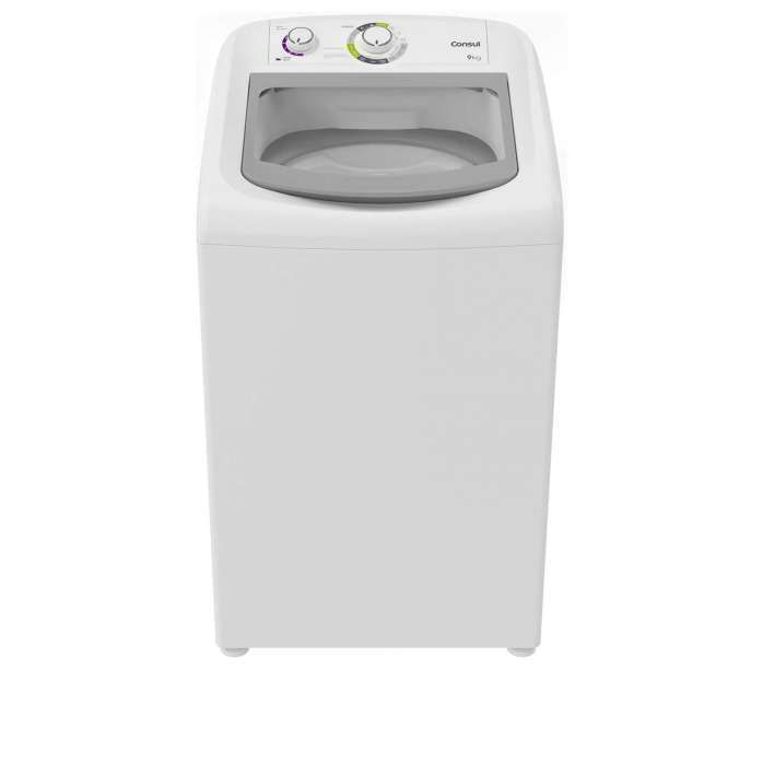 Lavadora branca CWB09
