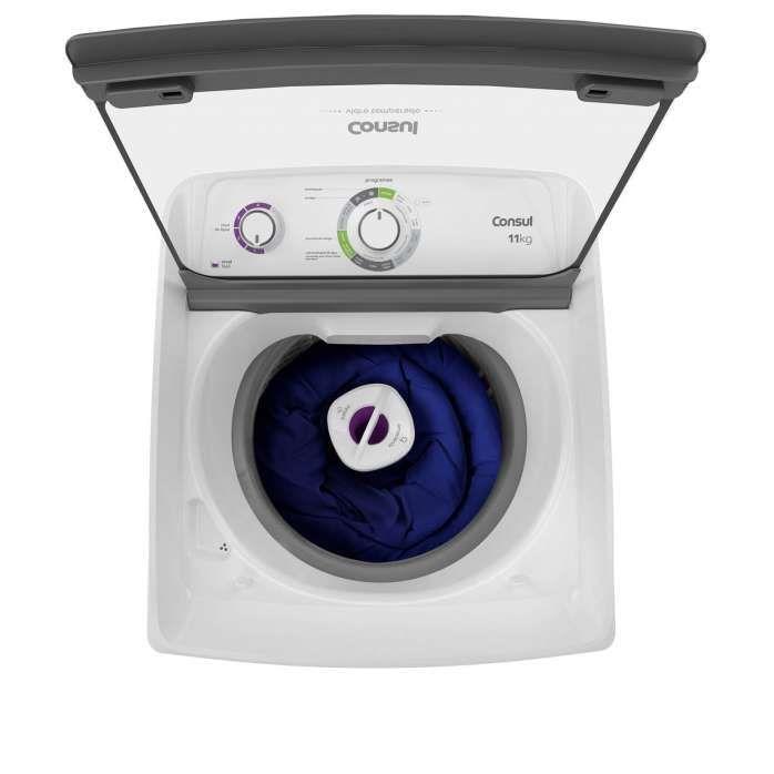 Lavadora branca CWH11
