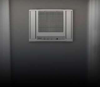 ar-condicionado na parede