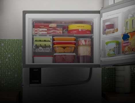 Freezer aberto