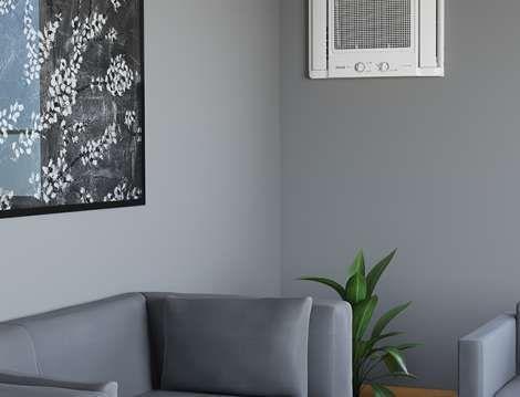 Sala com ar-condicionado