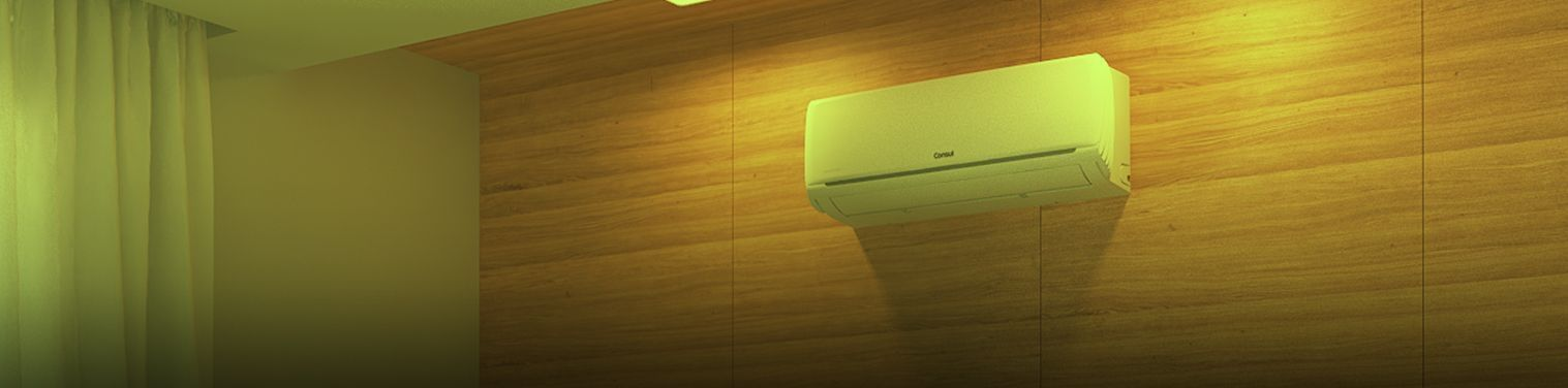 banner ar-condicionado gasta muita energia